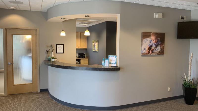 First Impressions Dental Reception Desk